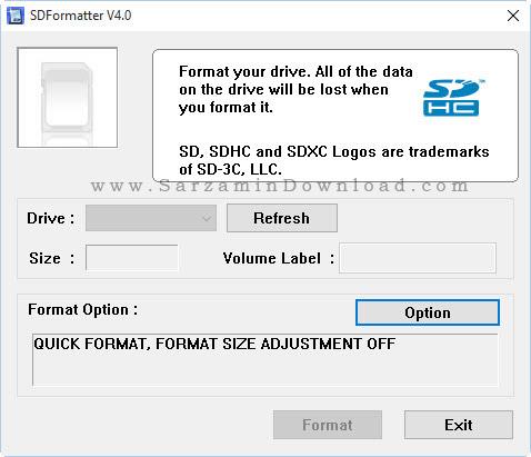 دانلود نرم افزار قوی برای فرمت فلش مموری - SD Formatter 4 - دانلود ...