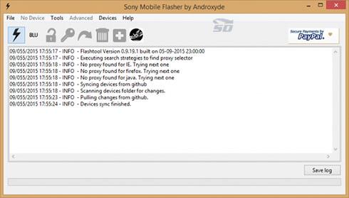 نرم افزار فلش تولز - Flash Tools 9.19.10