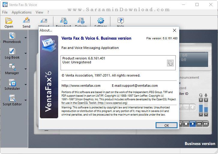 نرم افزار فکس - Venta Fax Voice 6.8