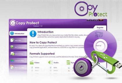 نرم افزار جلوگیری از کپی اطلاعات - Copy Protect 2.0.2