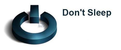 نرم افزار جلوگیری از خاموش شدن کامپیوتر - Dont Sleep 3.8