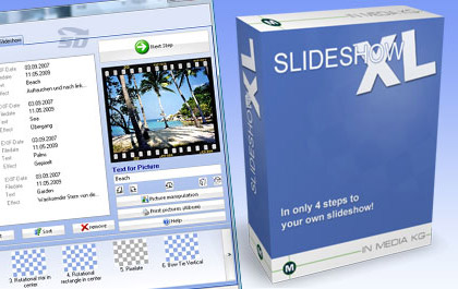 نرم افزار حرفه ای نمایش اسلاید عکس - Slideshow XL2 v12