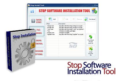 نرم افزار حرفه ای جلوگیری از نصب برنامه - Stop Software Installation Tool 3.1