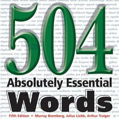 نرم افزار آموزش 504 لغت ضروری مکالمه زبان انگلیسی - 504Essential Words 7.7