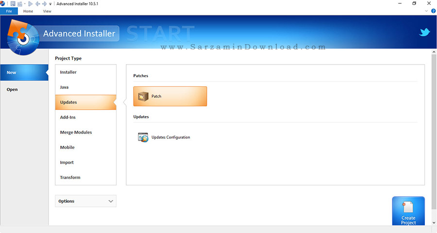 نرم افزار ایجاد برنامه نصب - Advanced Installer 10.5.1