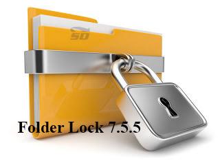 نرم افزار امنیت فایل ها - Folder Lock 7.5.5