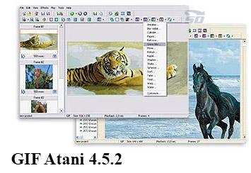 نرم افزار ساخت عکس متحرک - GIF Atani 4.5.2
