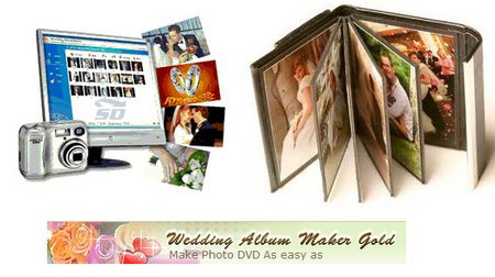 نرم افزار ساخت آلبوم عکس - Wedding Album Maker Gold 3.30