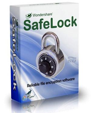 نرم افزار امنیت فایل ها - Wondershare SafeLock 1
