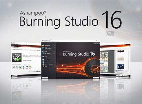 نرم افزار سریع و آسان رایت CD و DVD آشامپو - Ashampoo Burning Studio 2016