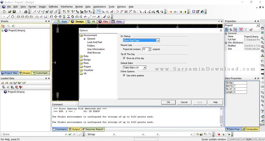 نرم افزار معدنی - CAE Datamine Studio 3.21