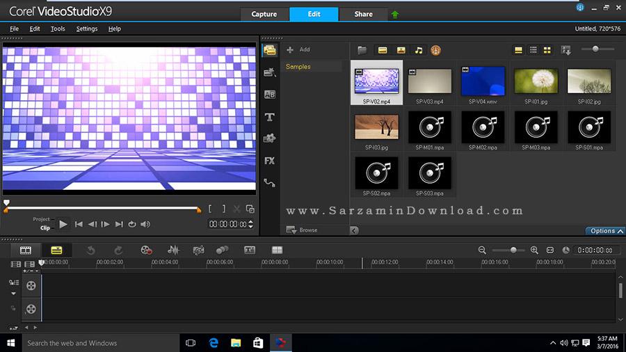 نرم افزار کورل ویدیو استودیو - Corel VideoStudio Pro X9 v19 SP1