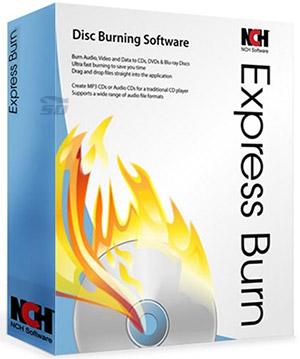 نرم افزار رایت سریع CD و DVD با امکانات فراوان - Express Burn Plus 4.98