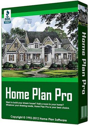نرم افزار طراحی نقشه ساختمان - Home Plan Pro 5.3.1.2