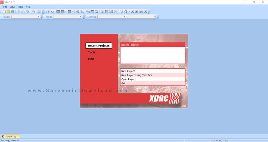 نرم افزار معدنی - Runge XPAC 7.12