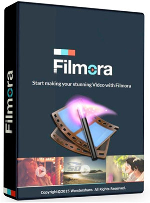 نرم افزار حرفه ای ویرایش فیلم - Wondershare Filmora 7.2.0.4
