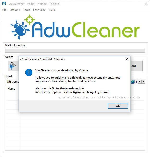نرم افزار ضد تبلیغات اینترنتی - AdwCleaner 5.102