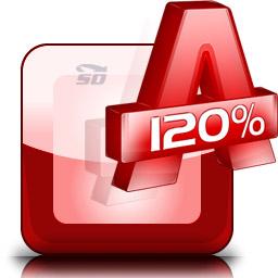 نرم افزار ساخت درایو مجازی، ایمیج گیری از CD و DVD، و رایت ایمیج - Alcohol 120 2.0.3