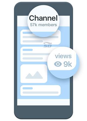 آموزش بالا بردن اعضای کانال تلگرام