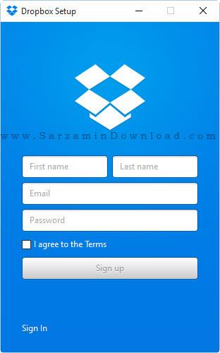 نرم افزار مدیریت فضای آنلاین ذخیره سازی اطلاعات - Dropbox 3.16.1