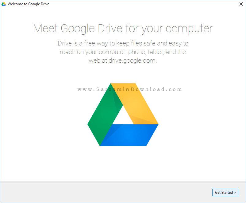 نرم افزار گوگل درایو - Google Drive 1.28