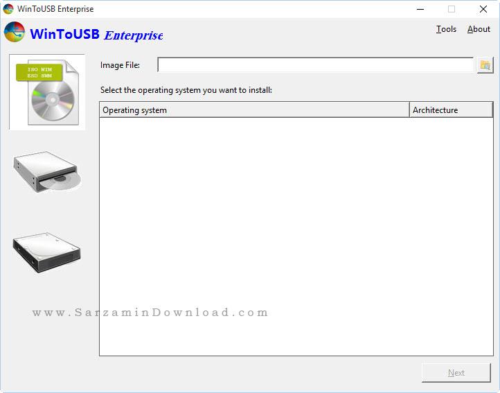 نرم افزار ساخت ویندوز قابل حمل بر روی یو اس بی - WinToUSB 2.9