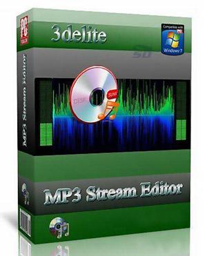 نرم افزار قدرتمند ویرایش فایل های صوتی - 3delite MP3 Stream Editor 3.4.4