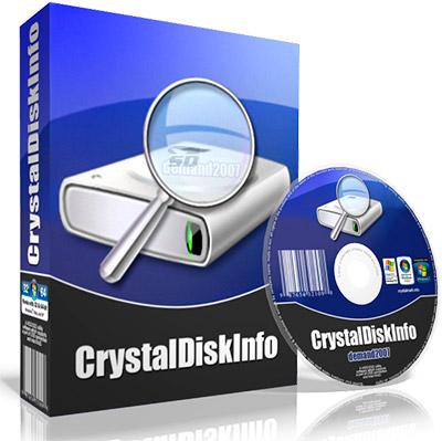 نرم افزار نمایش مشخصات هارد دیسک - CrystalDiskInfo 6.8.1