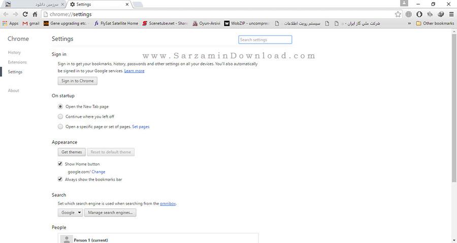 مرورگر گوگل کروم - Google Chrome 50