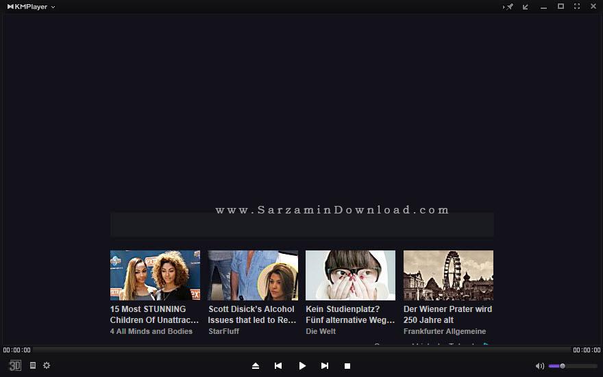 نرم افزار پخش فیلم و موسیقی، کا ام پلیر - KMPlayer 4.0.6.4