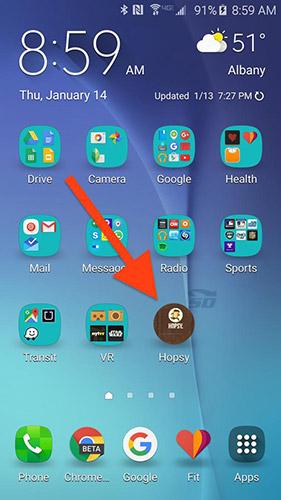 آموزش اضافه کردن یک مخاطب به صفحه اصلی گوشی اندروید
