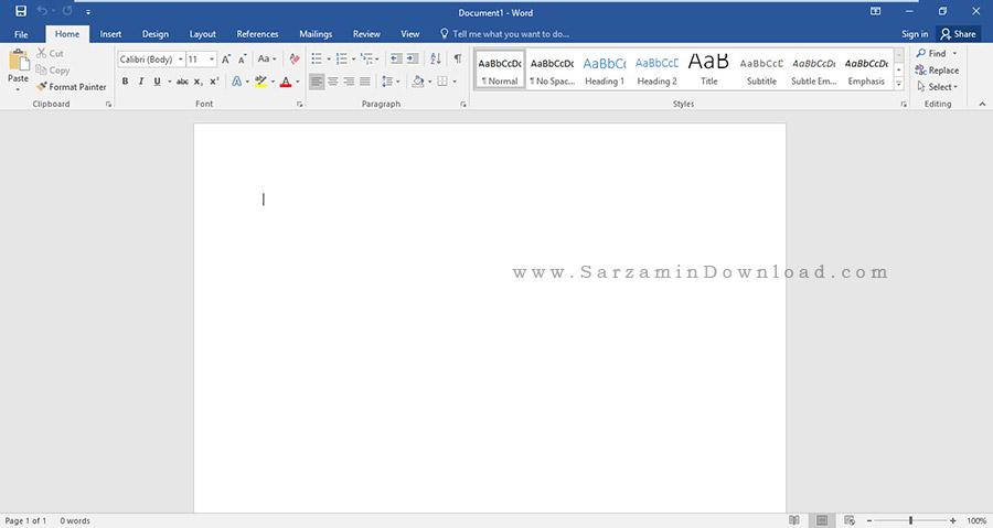 آفیس 2016 نسخه آپدیت شده تا آوریل 2016 - Microsoft Office 2016 Pro Plus April 2016