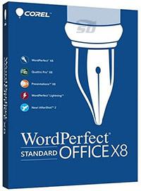 مجموعه آفیس شرکت کورل - Corel WordPerfect Office X8 v18
