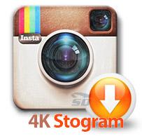 نرم افزار ذخیره کردن عکس و فیلم اینستاگرام در کامپیوتر - 4K Stogram 2