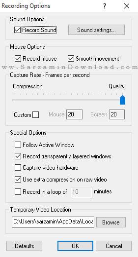 نرم افزار ساخت فیلم آموزشی - Instant Demo Pro 8.60