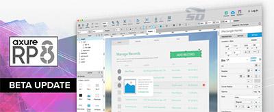 نرم افزار ایجاد شبیه ساز سایت - Axure RP 8