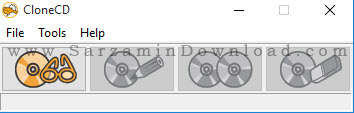 نرم افزار کپی سی دی های قفل دار - CloneCD 5.3.4