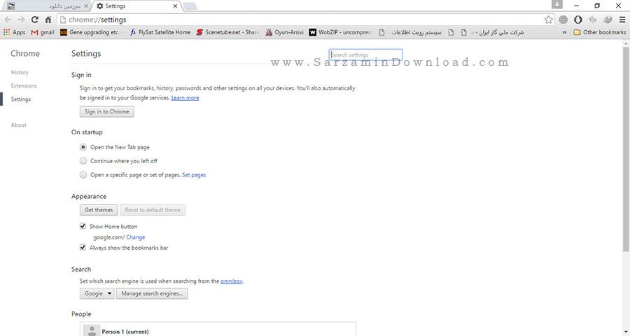 مرورگر گوگل کروم - Google Chrome 51