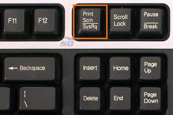 آموزش اسکرین شات و آپلود عکس