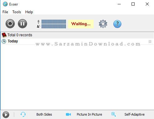 نرم افزار ضبط تماس های صوتی و تصویری اسکایپ - Evaer Video Recorder For Skype 1.6.5