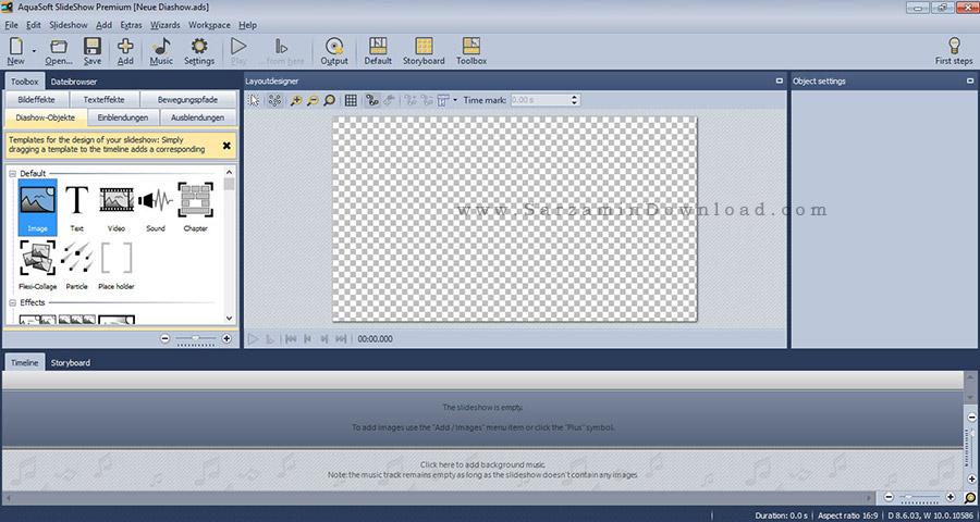 نرم افزار نمایش اسلاید عکس - AquaSoft SlideShow Premium 8.6.0.3