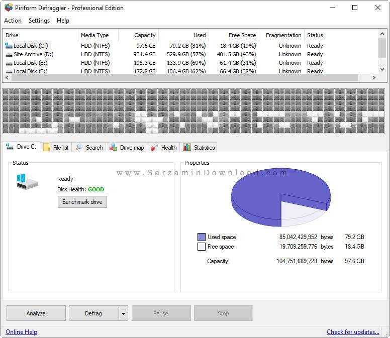 آموزش دیفرگ کردن هارد دیسک