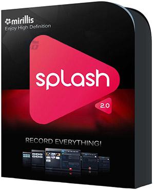 نرم افزار پخش فیلم و موسیقی - Mirillis Splash 2.0.4