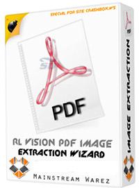 نرم افزار استخراج عکس های پی دی اف - RL Vision PDF Image Extraction Wizard 6.31