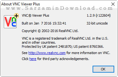 نرم افزار کنترل از راه دور کامپیوتر - RealVNC VNC Enterprise 5.3.1
