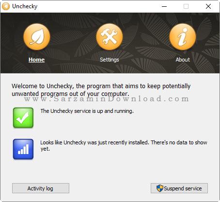نرم افزار جلوگیری از نصب برنامه - Unchecky 0.4.3