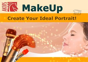 نرم افزار آرایش صورت - AKVIS MakeUp 3.5
