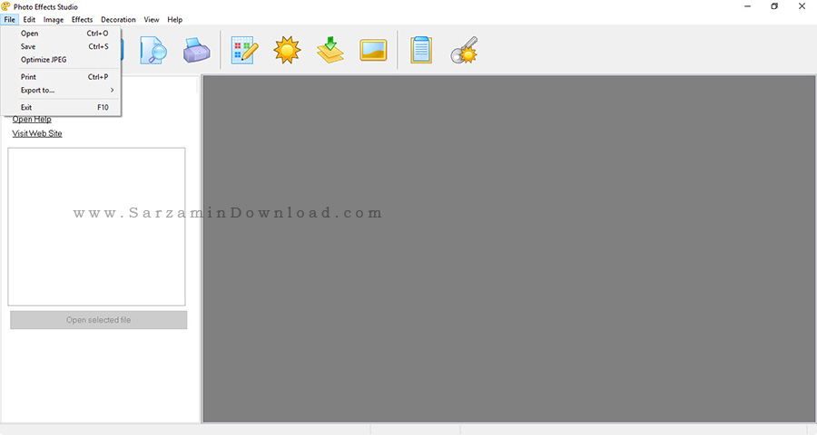 نرم افزار قاب عکس - AMS Software Photo Art Studio 3.15