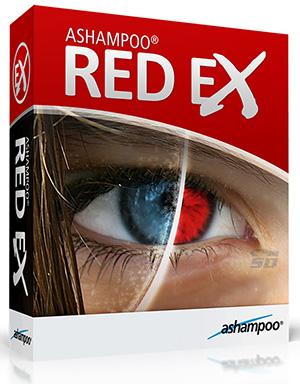 نرم افزار رفع قرمزی چشم در عکس - Ashampoo Red Ex 2015