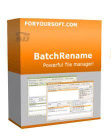نرم افزار تغییر نام گروهی فایل ها - BatchRename Pro 4.511.1